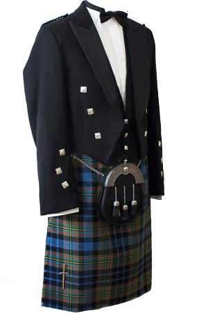 Premier Prince Charlie Kilt Outfit