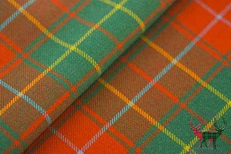 Buchanan Ancient Heavyweight Tartan Fabric