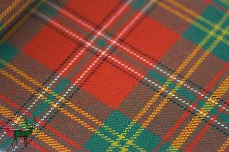 Leask Heavyweight Tartan Fabric