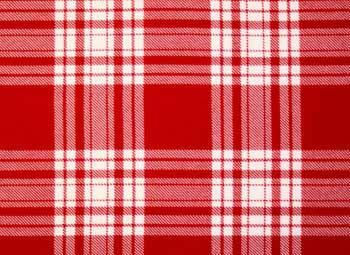 Menzies Red and White Tartan