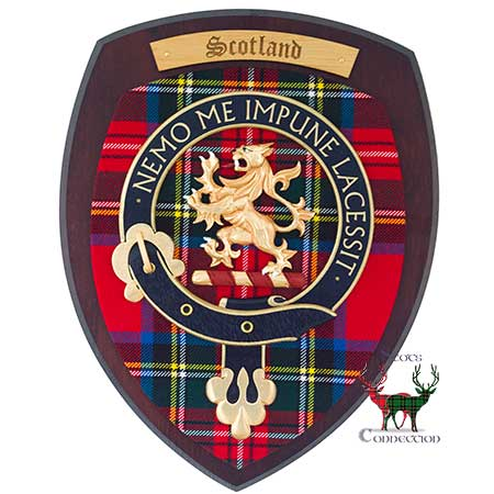 Large Dark Scotland Crest