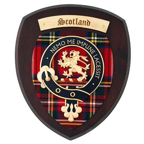 Dark Finish Scotland Crest
