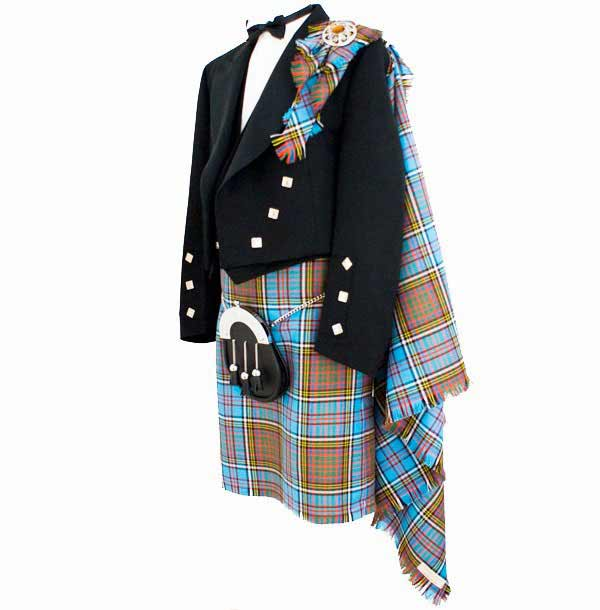 Fly Plaid Premier Weight Tartan