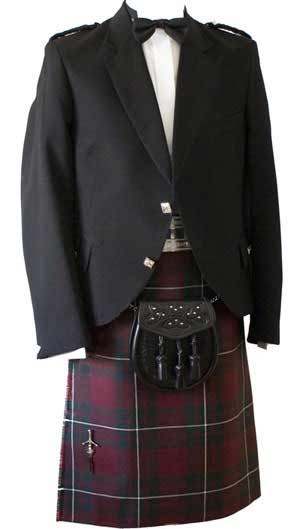 Argyll Kilt Outfit - Premier Weight