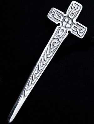 Celtic Cross Kilt Pin