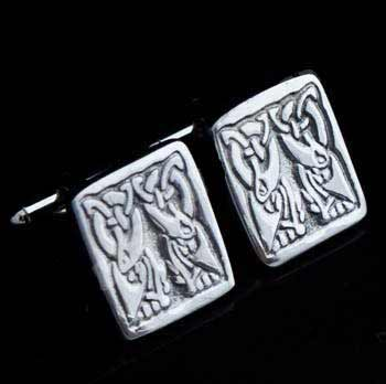 Celtic Birds Cufflinks