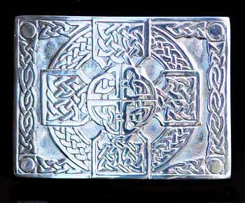 Celtic Cross Kilt Belt Buckle