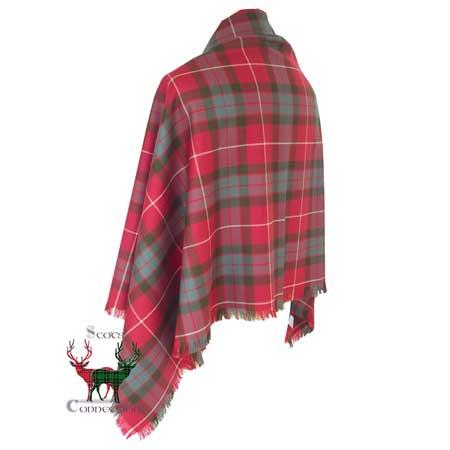 Fraser Dress Weathered Shawl Reverse
