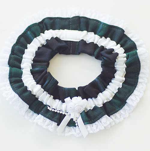 Graham of Menteith Tartan Wedding Garter