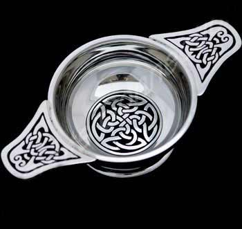 Large Celtic Interlace Quaich