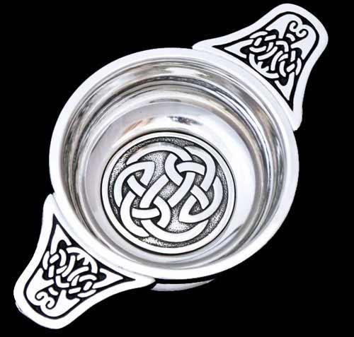 Celtic Knot Quaich