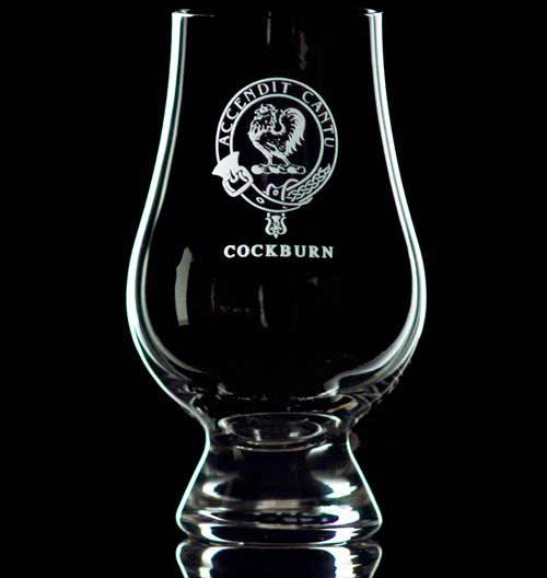 Clan Crest Glencairn Whisky Glass - Set of Two
