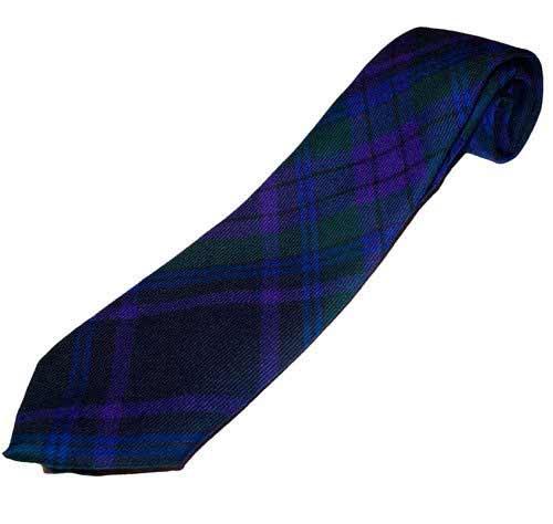 Tartan Tie - Fine Lightweight