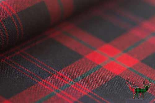 Brown Tartan Fabric