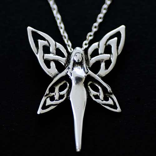 Celtic Fairy Pendant