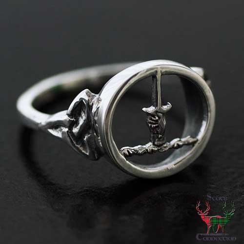 MacKay Clan Crest Ladies Ring
