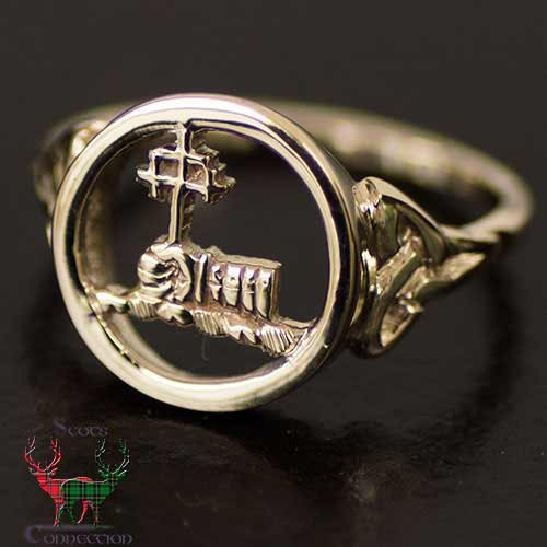 Womens Gold Clan Ring