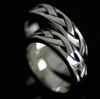 Endless Celtic Knot Silver Ring