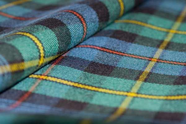 Tartan Fabric - Lightweight