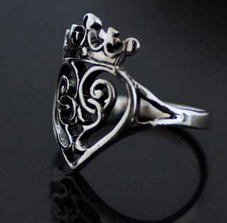 Scottish Love Luckenbooth Silver Ring