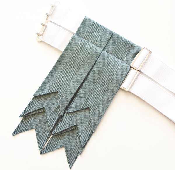 Kilt Flashes - Weathered Blue
