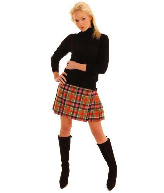 Tartan Mini Kilt (2)