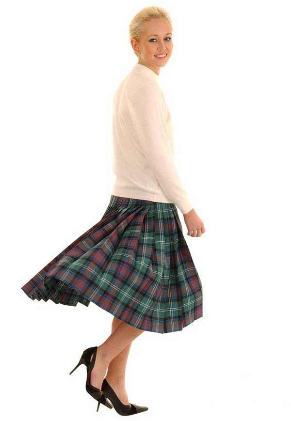 Kilted Skirt - Deep Pleats