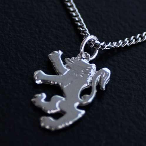 Close-up Lion Rampant Pendant