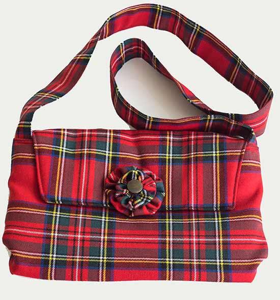 Royal Stewart Tartan Shoulder Bag
