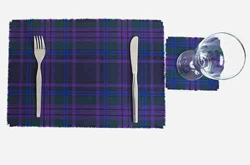 Spirit of Scotland Tablemat Set