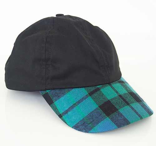 MacKay Ancient Tartan Peak Baseball Cap