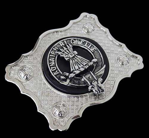 Cameron Clan Kilt Belt Buckle