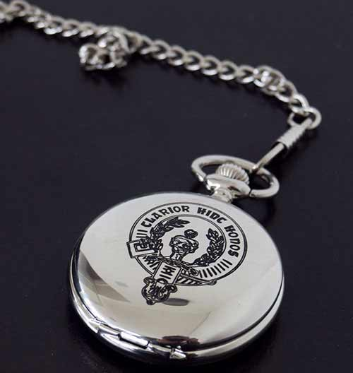 Buchanan Clan Crest Pocket Watch