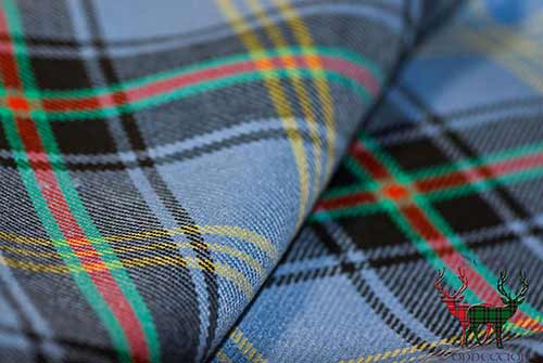 Bell of the Borders Tartan Close Up