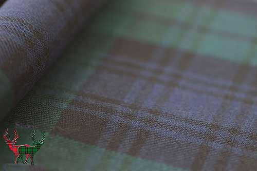 Black Watch Tartan Material