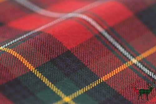 Boyd Modern Lightweight Tartan Fabric