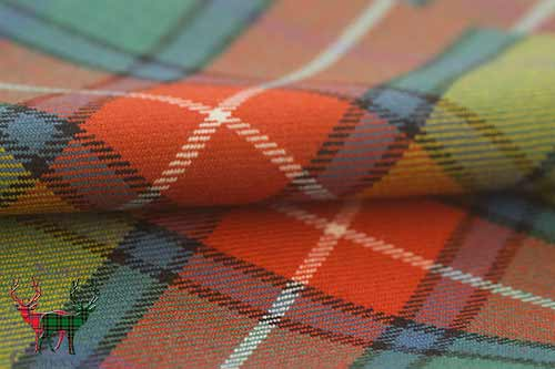 Buchanan Ancient Tartan Fabric