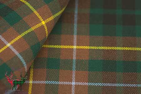 Buchanan Hunting Mediumweight Tartan Fabric