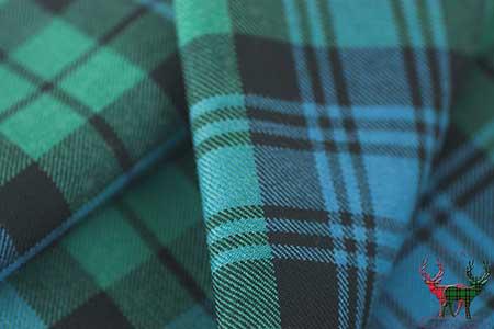 Campbell Clan Ancient Tartan Fabric