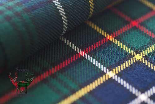 Cockburn Modern Heavyweight Tartan Fabric