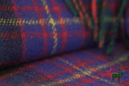 Cameron of Erracht Tartan Throw