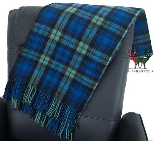 Campbell Clan Tartan Blanket