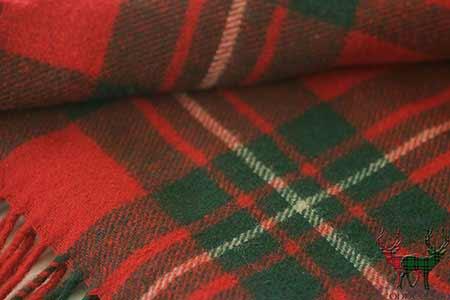 MacGregor Tartan Blanket