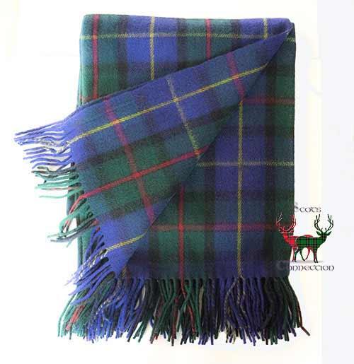 MacLeod of Harris Tartan Blanket