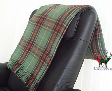 Newfoundland Tartan Throw on Armchair