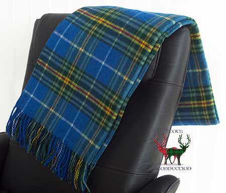 Nova Scotia Tartan Throw on Armchair
