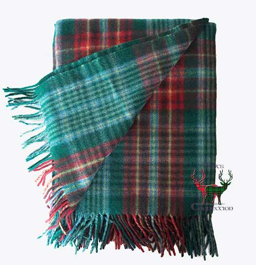 New Brunswick Tartan Blanket
