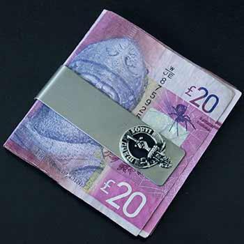 Scottish Clan Crest Money Clip