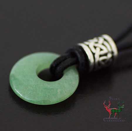 Celtic Aventurine Bead Pendant