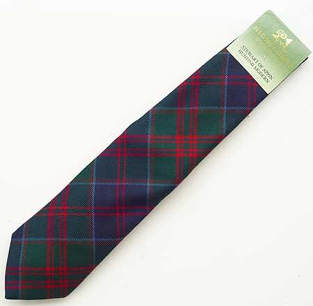 Stewart of Appin Tartan Tie